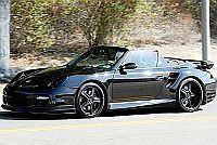 Czarne Porsche Davida Beckhama