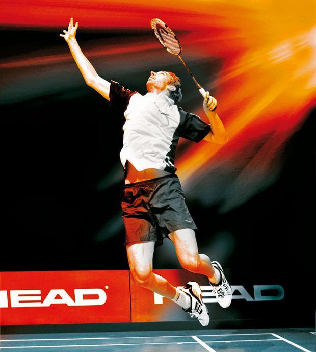 Badminton - Lotka jak rakieta