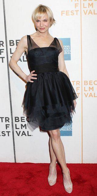 Renee Zellweger na premierze filmu