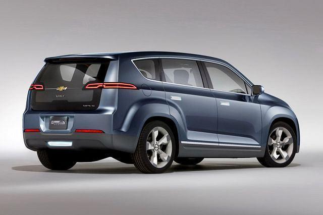 Chevrolet Volt MPV5 concept