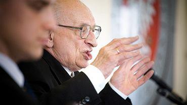 Władysław Bartoszewski. Wykład Profesora na Wydziale Prawa UwB w Białymstoku