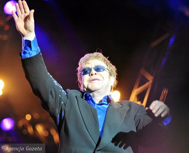 Koncert Eltona Johna w Warszawie