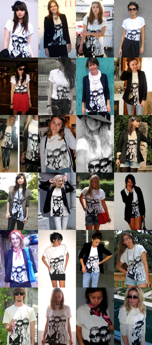 dziewczyny w koszulce - Girls in Glasses Borders fot. igorandandre.blogspot.com