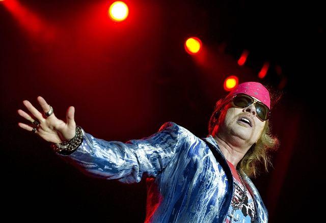 Axl Rose z Guns'n'Roses