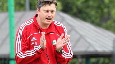 Trener Maciej Skorza