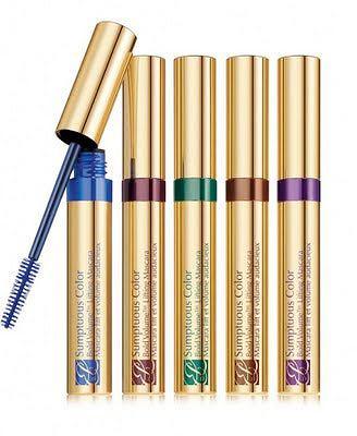 Estee Lauder Sumptuous Color Mascara. Dostępny w 5 kolorach. Cena 130zł