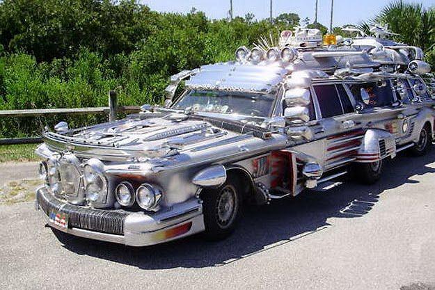 Wyjątkowy Mercedes stworzony przez Anttiego Rahko z Florydy