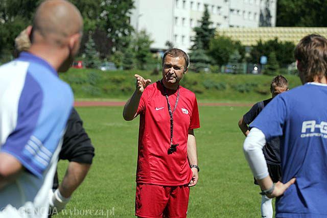 Trener Zbigniew Kaczmarek pracę w Olsztynie rozpoczynał w 2010 roku