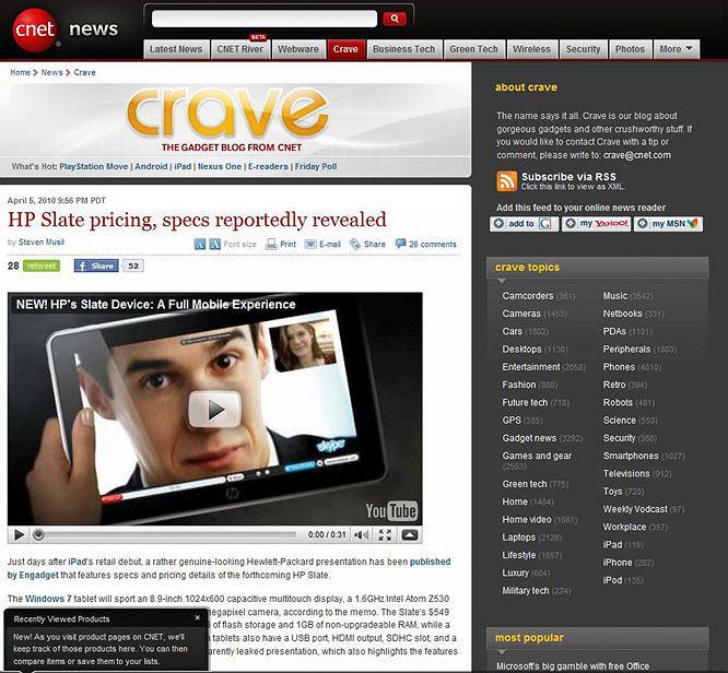 Crave.cnet.com