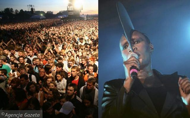 Gdynia jest od czwartku stolicą muzyki. Do Trójmiasta przyjechało kilkadziesiąt tysięcy młodych ludzi, żeby zobaczyć koncerty takich zespół jak m.in. Pearl Jam czy Massive Attack. Dzisiaj ostatni dzień festiwalu i koncert np. Mariki.