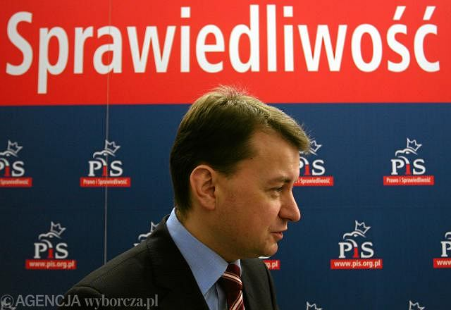 Szef klubu PiS Mariusz Błaszczak