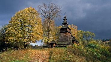 Drewniane cerkwie Beskidu Niskiego są jednym z najpiękniejszych elementów polskiego pejzażu