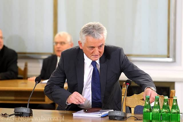 Drzewiecki o wymyślenie i wykreowanie afery hazardowej oskarżył byłego szefa Centralnego Biura Antykorupcyjnego Mariusza Kamińskiego
