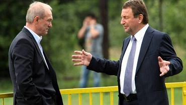 Józef Wojciechowski (na zdjęciu w towarzystwie trenera Franciszka Smudy)