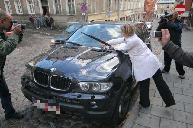 BMW X5 Jacka Kurskiego
