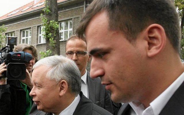 Marcin Dubieniecki i Jarosław Kaczyński