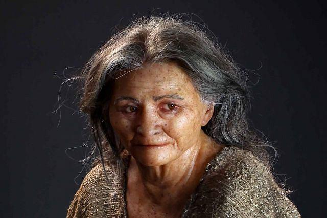 Twarz kobiety, która żyła ponad 10 tys. lat temu Fot. AP