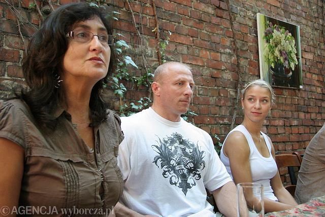 Od lewej : Krystyna Bazińska, Arkadiusz Szyderski i Natalia Małaszewska