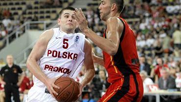 Dardan Berisha w meczu reprezentacji Polski z Belgią