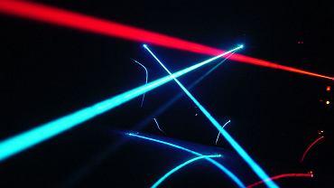 Lasery i Rave