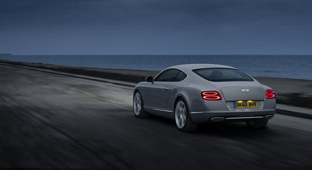 Nowy Bentley Continental GT (2011)