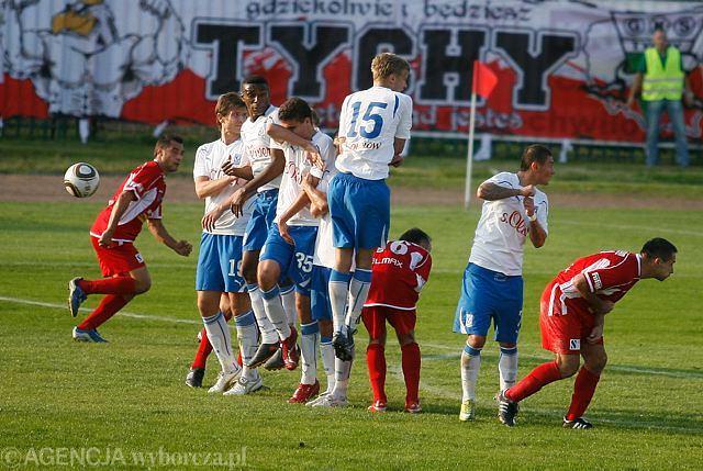 Trzy lata temu tyszanie odpadli (po porażce 0:1 z Lechem Poznań) w 1/16 finału Pucharu Polski. Teraz udało im się przejść tę rundę