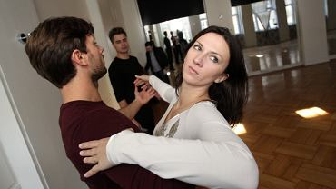 Monika Pyrek i Robert Rowiński podczas treningu w Szczecinie