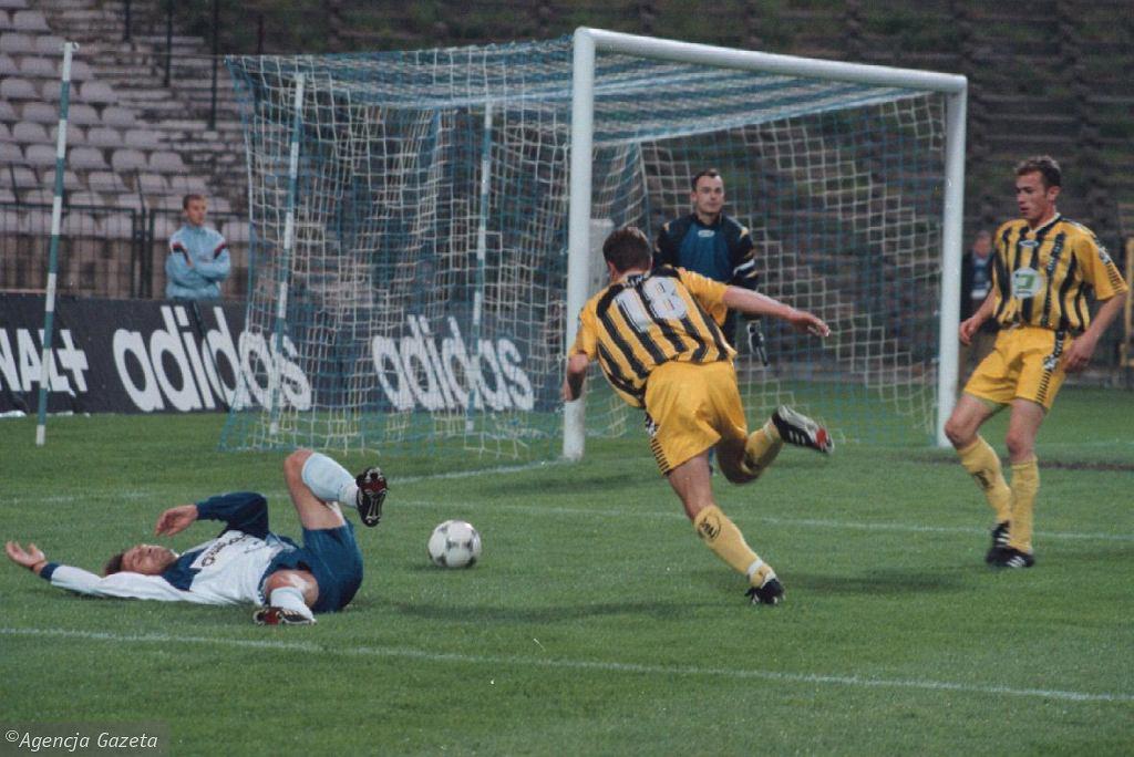 Mecz Lech Poznań - GKS Bełchatów (23 września 1998)