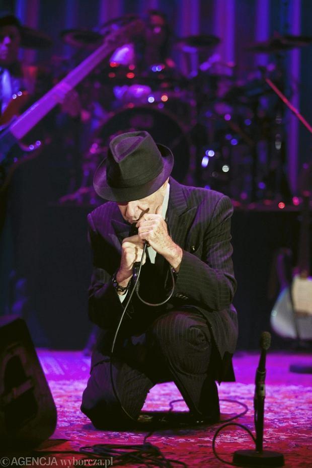 Zdjęcie numer 7 w galerii - Leonard Cohen zawładnął Spodkiem