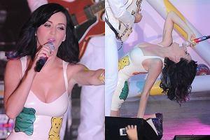 Koncert Katy Perry w warszawskim klubie Stodoła przyciągnął tłumy, a gwiazda dała show pełne słodyczy.