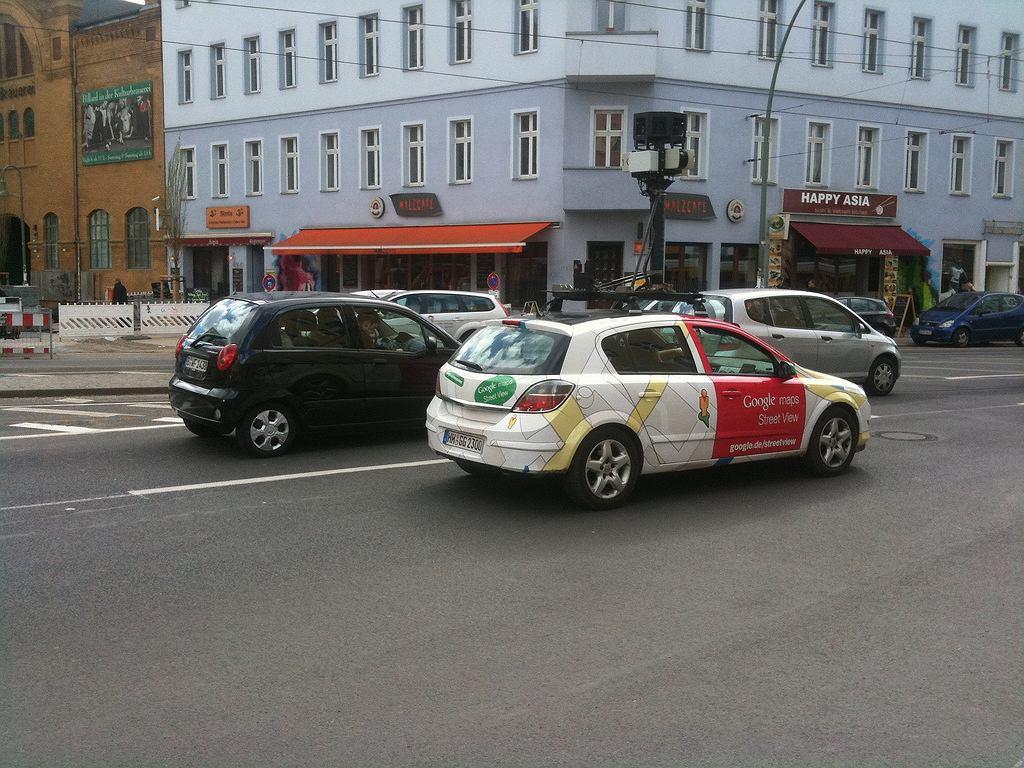 Toyota Prius Google Street View