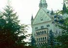 Bawaria. Łabędzi zamek w Neuschwanstein