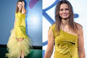 Kinga Rusin w jednym z wywiadów powiedziała, że przed nagraniami You Can dance nie patrzyła w lustra. Nie skupiała się na tym, jak wygląda. Przed konkursem młodych projektantów Re-Act Fashion Show, który poprowadziła w weekend w ramach łodzkiego Fashion Week Poland również chyba nie patrzyła w lustra.
