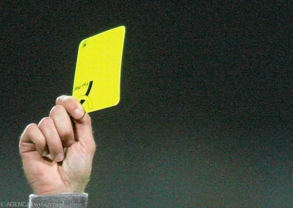 Żółta kartka