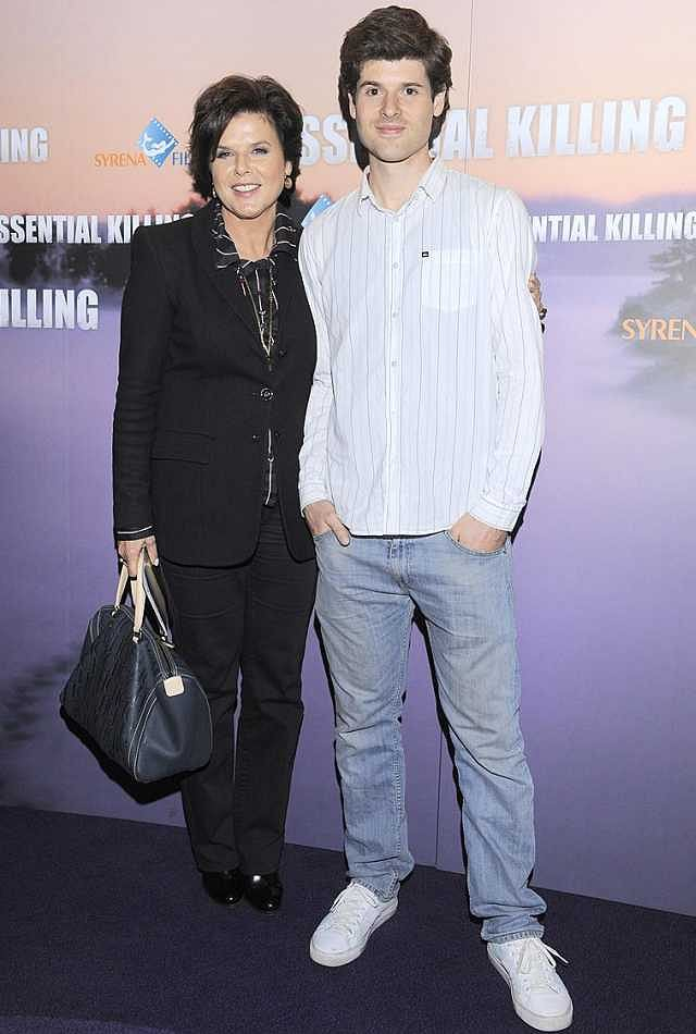 Alicja Resich-Modlińska z synem