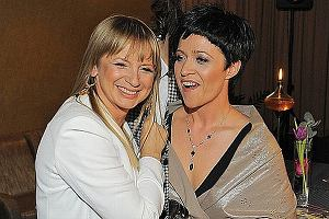 Marzena Rogalska i Ewa Drzyzga