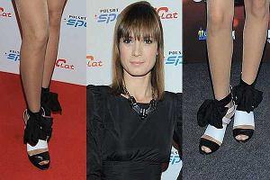 Paulina Chylewska dwa razy w tych samych butach!