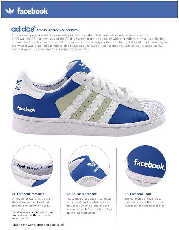 Facebook shoes/adidas