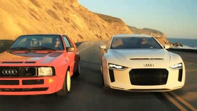 Audi Sport Quattro 1984 vs Audi Quattro 2010