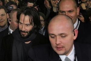 Keanu Reeves przyleciał do Polski. Jest gościem specjalnym festiwalu Camerimage w Bydgoszczy.