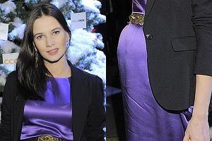 Na premierze kalendarza Dżentelmeni 2011 nie mogło zabraknąć żony pomysłodawcy Olviera Janiaka Karoliny Malinowskiej.