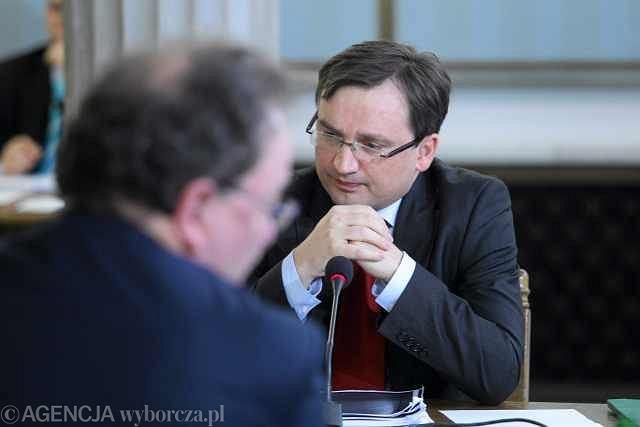 Jaromir Netzel i Zbigniew Ziobro