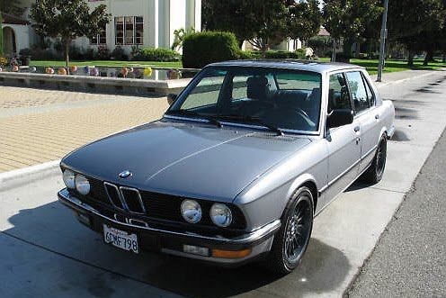 BMW 557i
