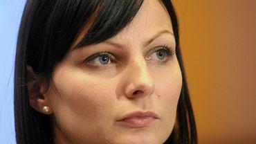 Rzeczniczka PZPN Agnieszka Olejkowska