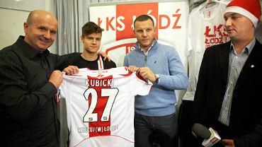Tomasz Wieszczycki i Tomasz Kłos jako działacze ŁKS
