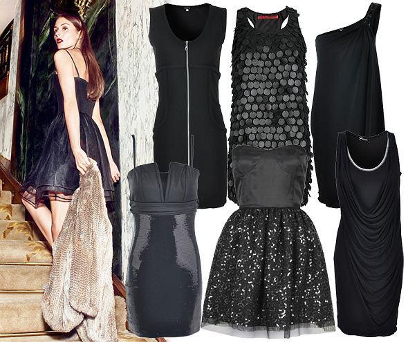 Czarne sukienki