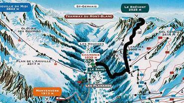 Narty. Francja - Chamonix
