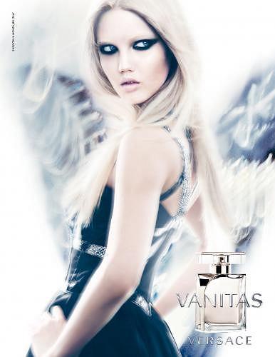 Lindsay Wixson w reklamie perfum Versace - Vanitas