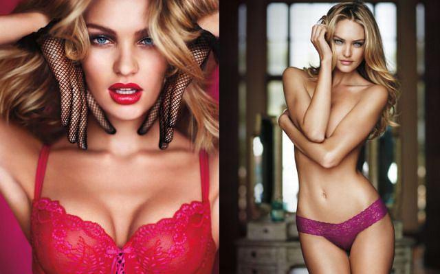Victoria's Secret przygotowała na walentynki wyjątkową kampanię reklamową z udziałem seksownej modelki. Piękna bielizna, ponętna dziewczyna. Jak podoba wam się bielizna? Mężczyźnie pewnie zapatrzyli się w oczy modelki.