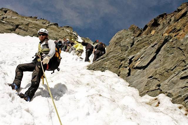 Wyprawa z przewodnikiem, Edwardem Lichotą, na Grossglocknera - najwyższy szczyt Austrii (3789 m)